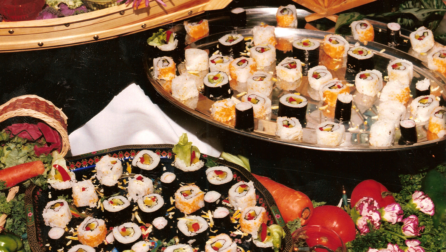 Japanese wedding catering